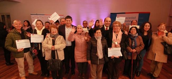 Ocho Organizaciones de Adultos mayores de San Pablo Resultaron Beneficiadas